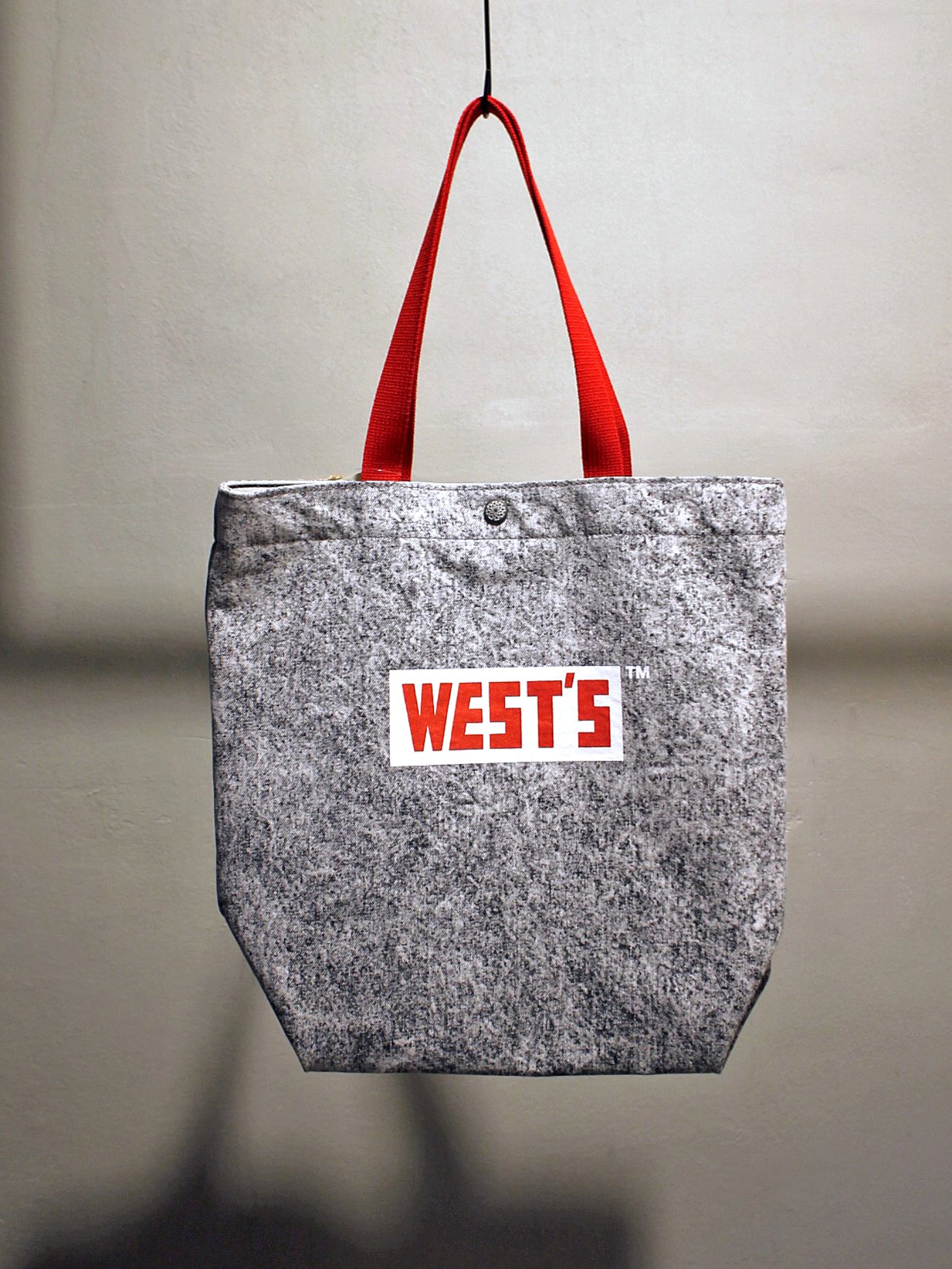 [WESTOVERALLS] West's Tote Bag (C.Black)