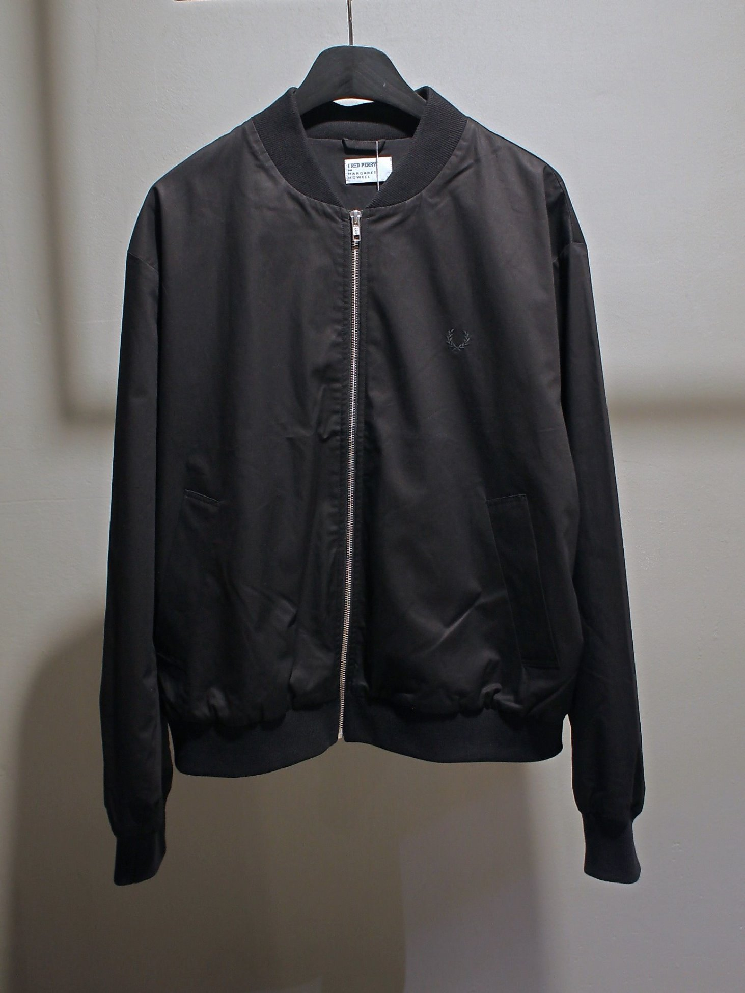 [Fred Perry X Margaret Howell ] Tennis Bomber - Black
