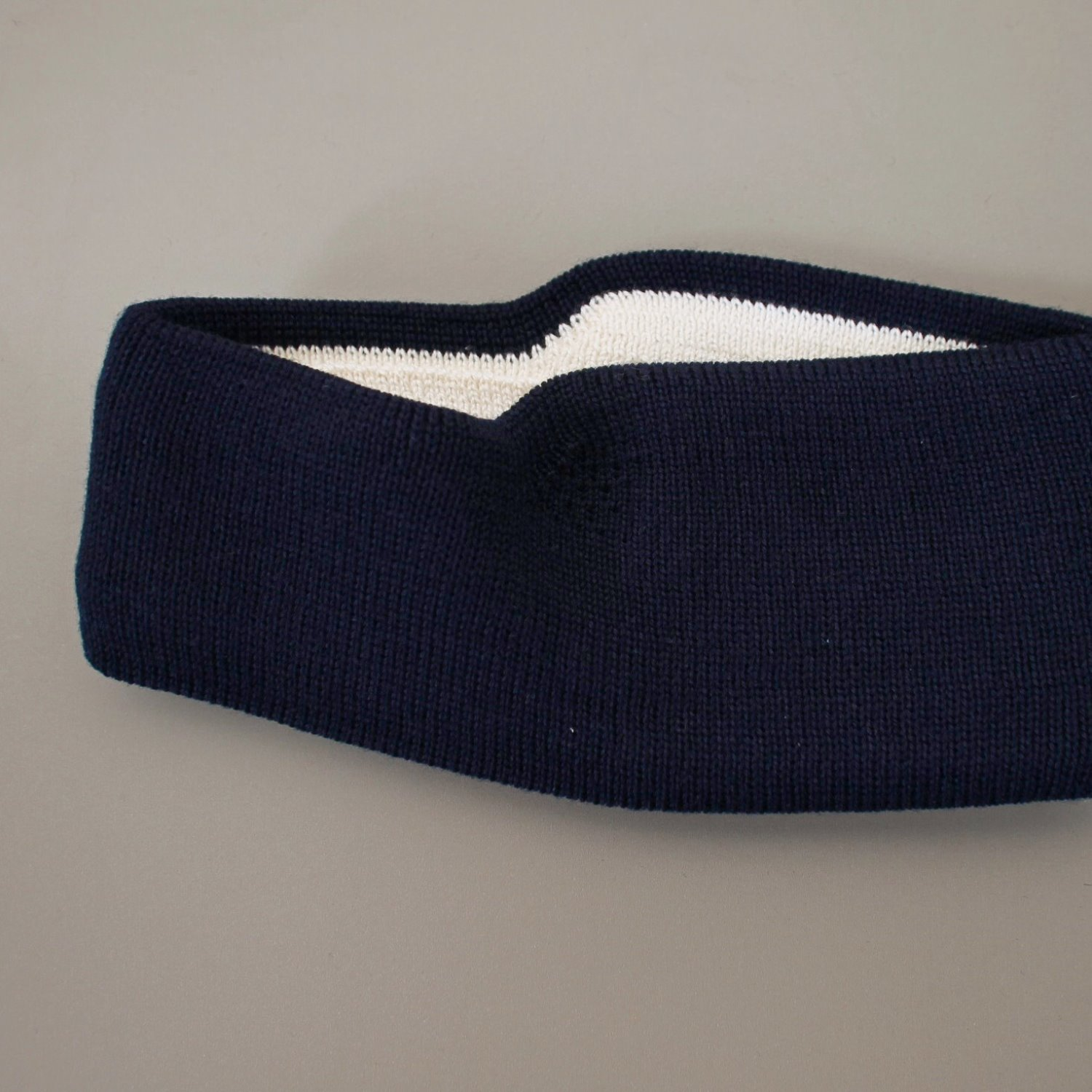 [LEUCHTFEUER STRICKWAREN] Head Band - Navy