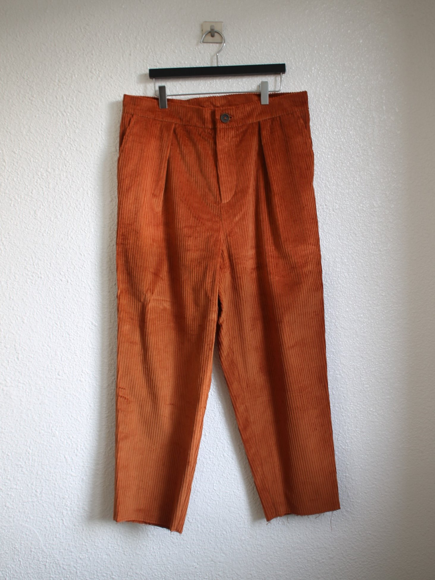 [An Irrational Element] Capa Trouser - Rust Corduroy