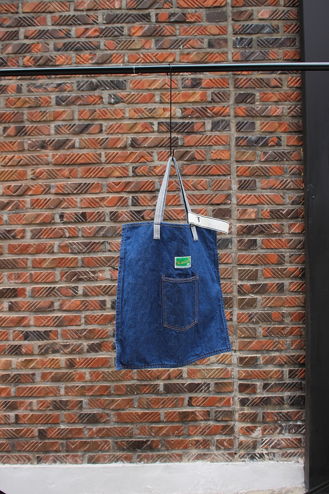 [WESTOVERALLS] Denim Bag - Indigo