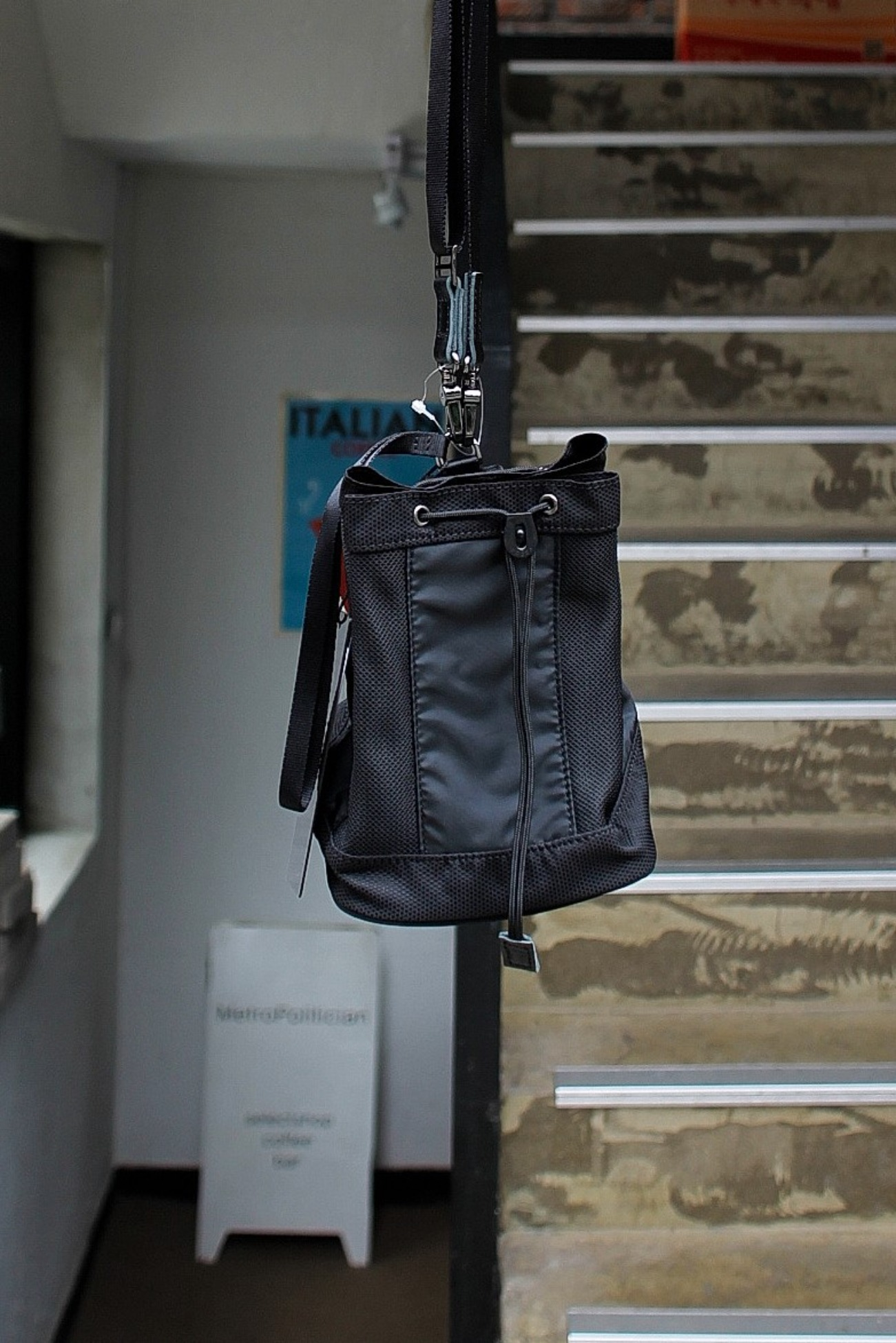 [Name.] with masterpiece Keeper Bag - Black